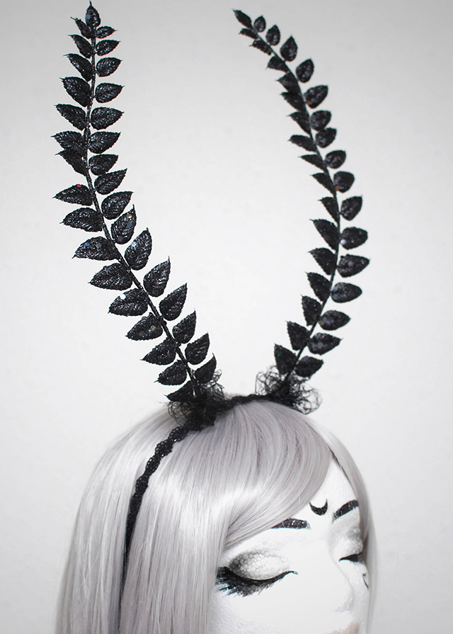 butterfly animal hood headdress crown