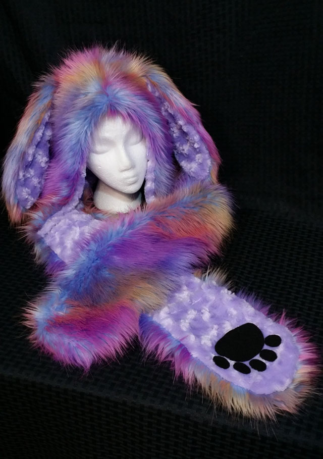 rabbit animal hood
