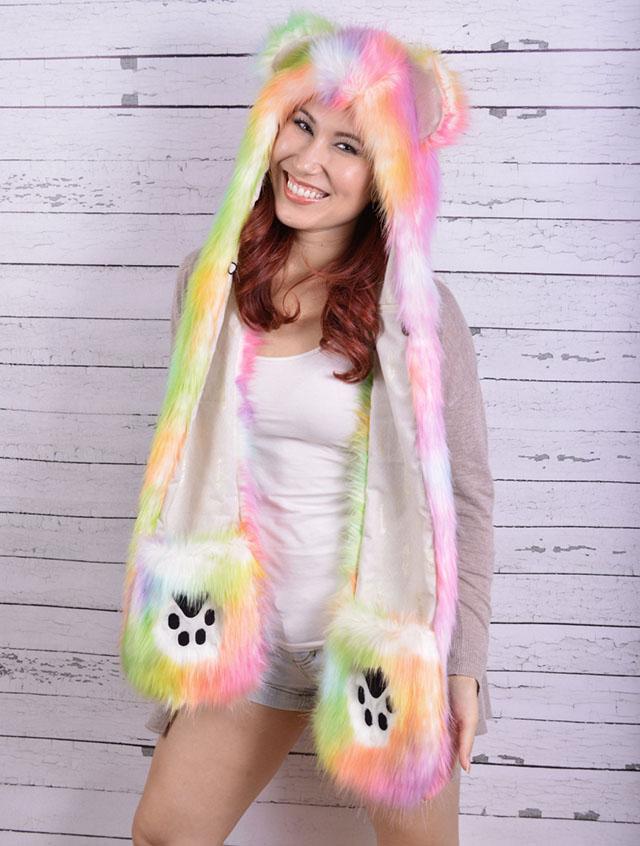 bear animal hood