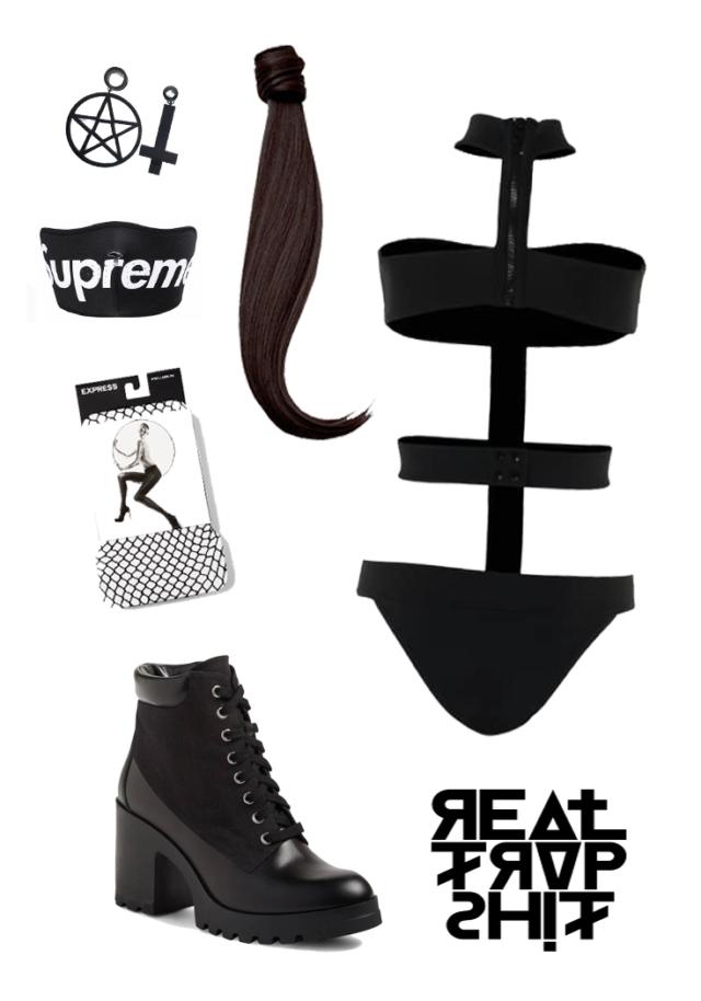 trap music outfit inspiration go go dancer