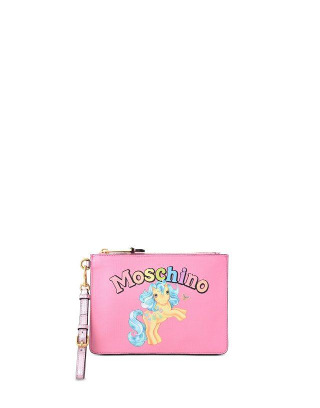 moschino my little pony clutch