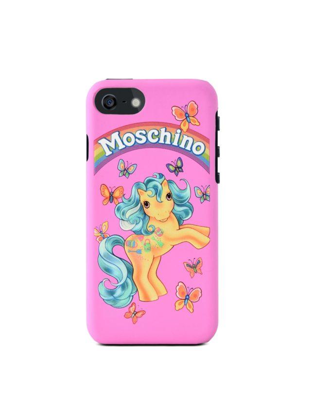 moschino my little pony iphone 6/7 case