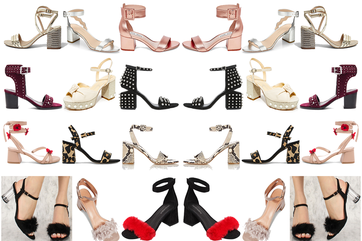 982f978b53 12 Pairs of Block Heel Sandals You Could Possibly Dance in - Slutty Raver  Costumes