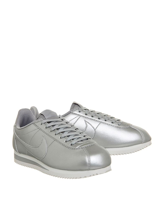 metallic nikes