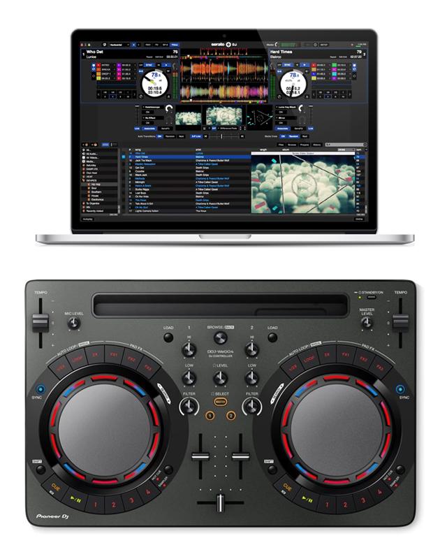 dj software and dj controller