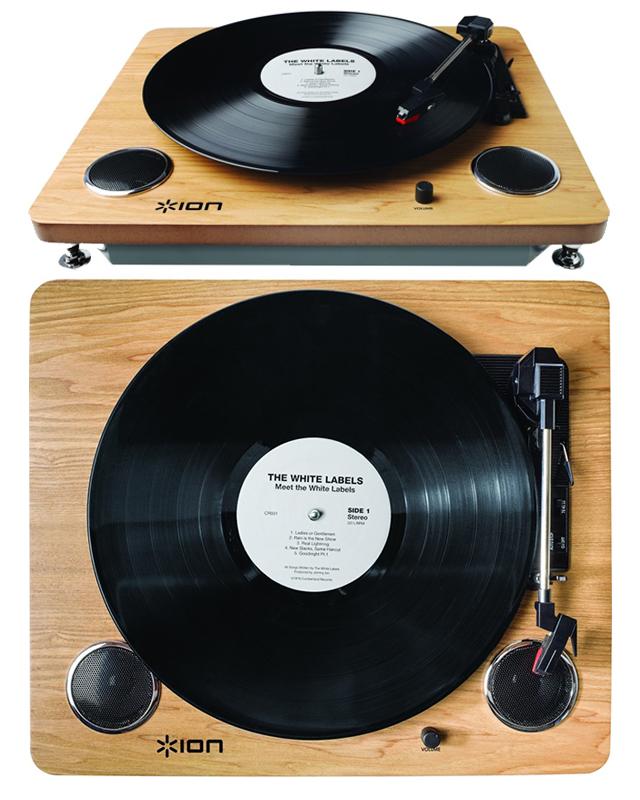 ION archive audio LP turntable