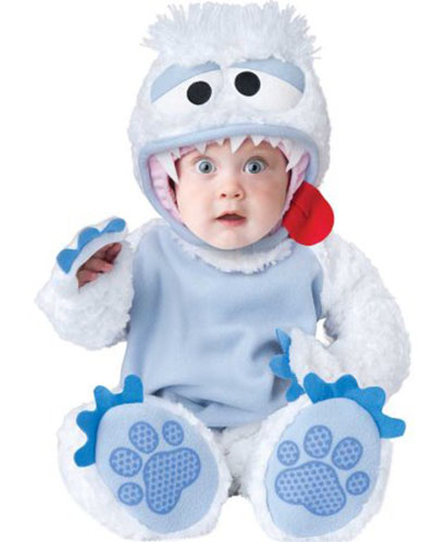 abominable snowman Christmas costume