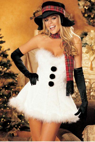 snowman Christmas costume
