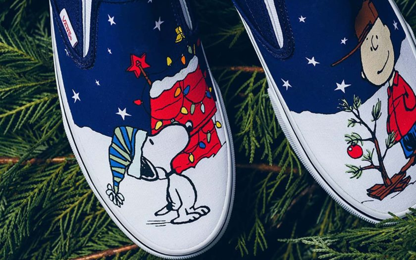 good quality quality products detailed images Vans & Peanuts Collaborate on a Christmas Line - Slutty ...
