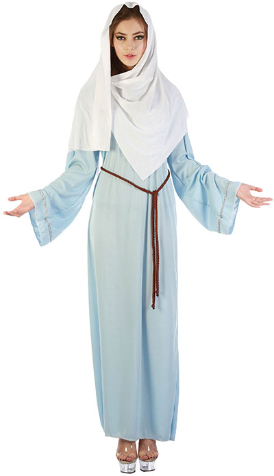 virgin mary Christmas costume