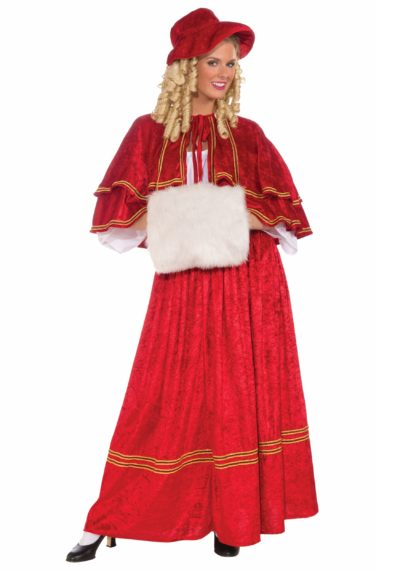 caroler Christmas costume