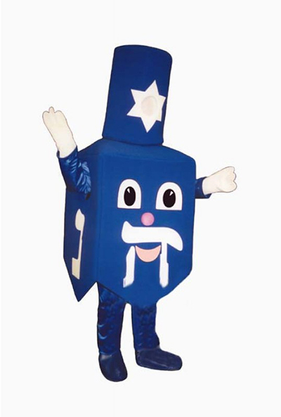 dreidel not Christmas costume