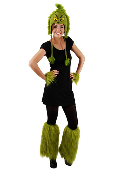 grinch Christmas costume