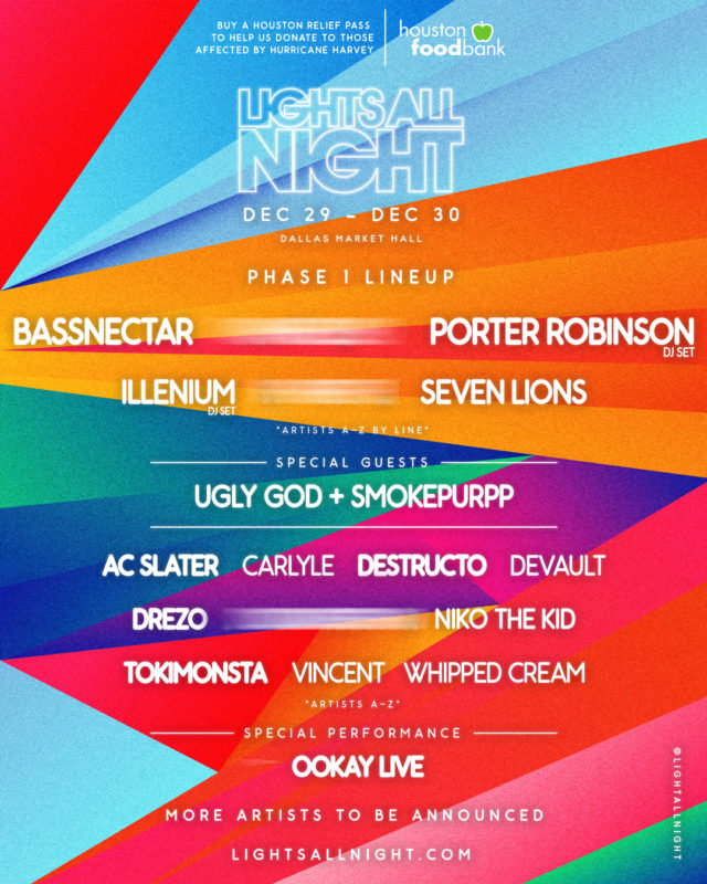 lights all night music festival 2017 lineup