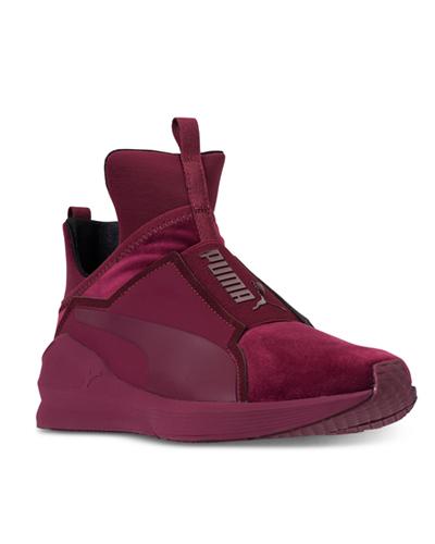 Puma velvet sneakers