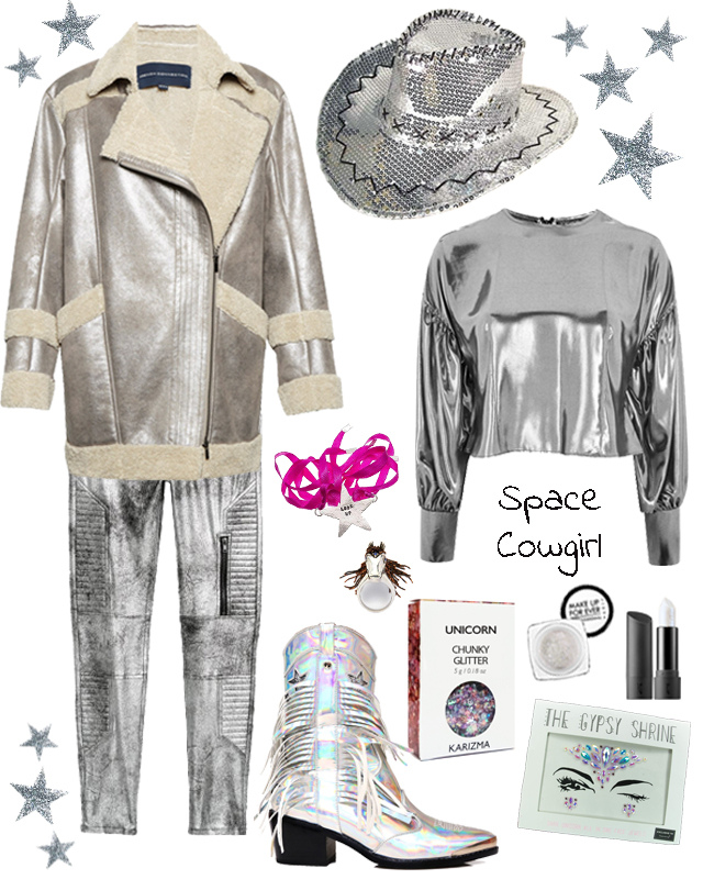 space cowgirl outfit