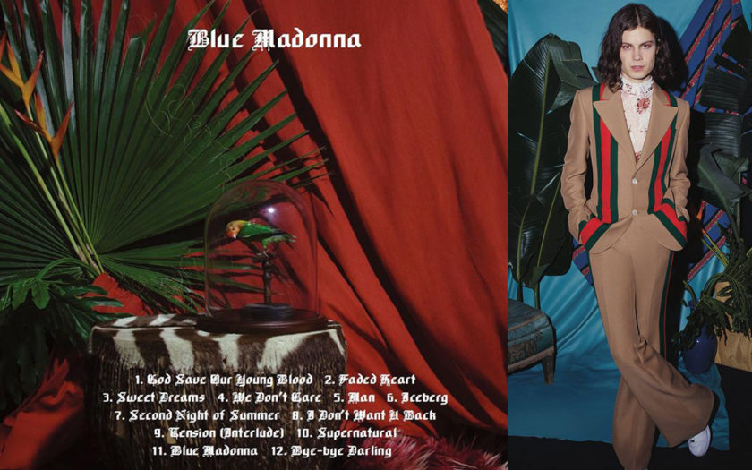Blue Madonna cover art