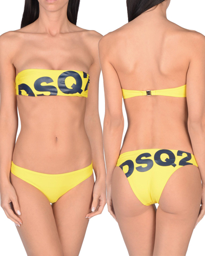 dsquared2 logo swimsuit