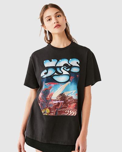 matrix fashion graphic t-shirt