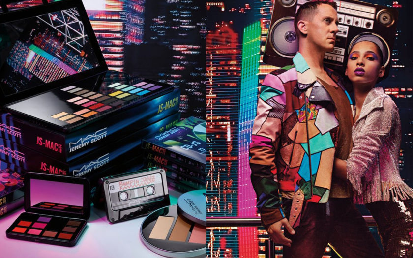 mac cosmetics and jeremy scott collaboration makeup