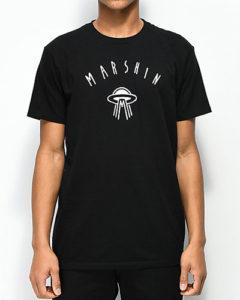Marshin Logo Black T-Shirt