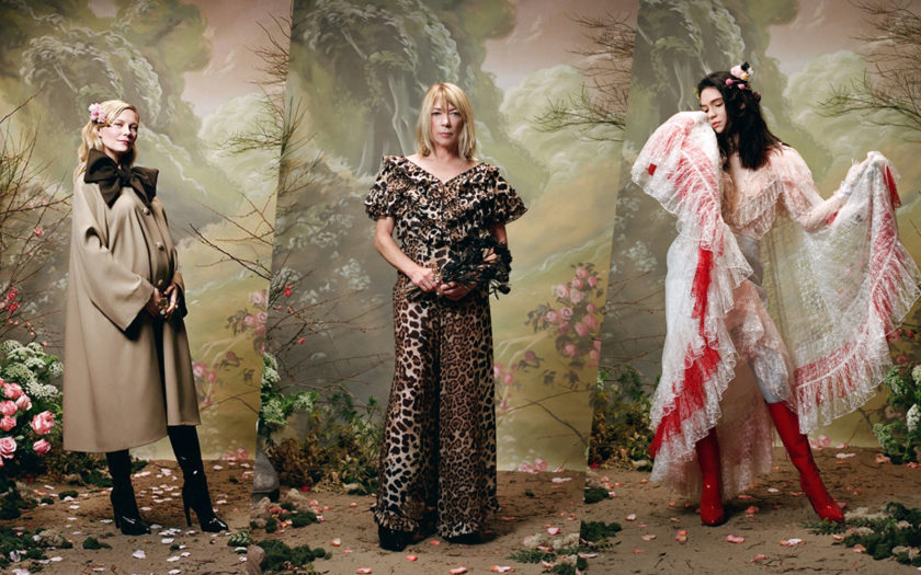Kirsten Dunst pregnant, Kim Gordon and Grimes wearing Rodarte