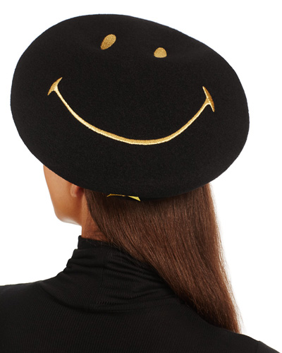 lauhere smiley beret