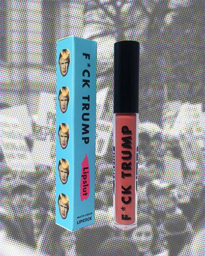lipslut fck trump matte liquid lipstick