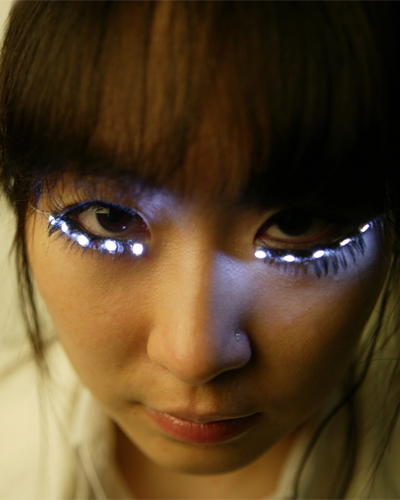 Would You Buy These Shiseido LED Eyelashes? - Slutty Raver Costumes