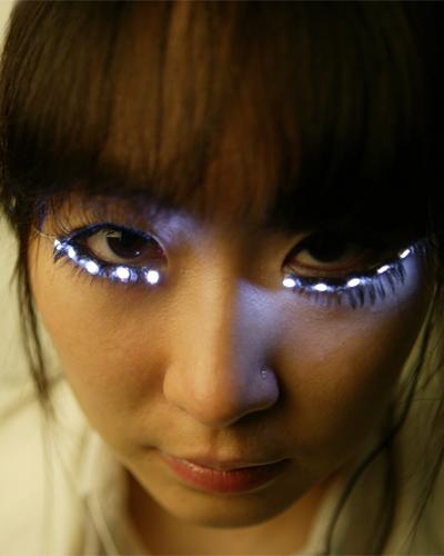 sumi park led eyelashes