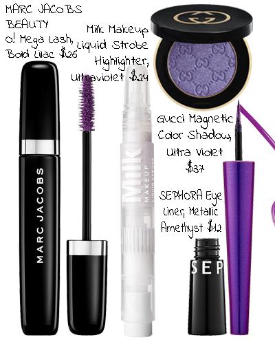 ultra violet eye makeup