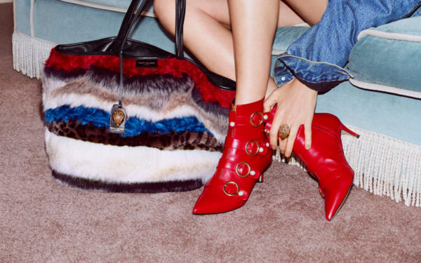 Fenwick UK red boots