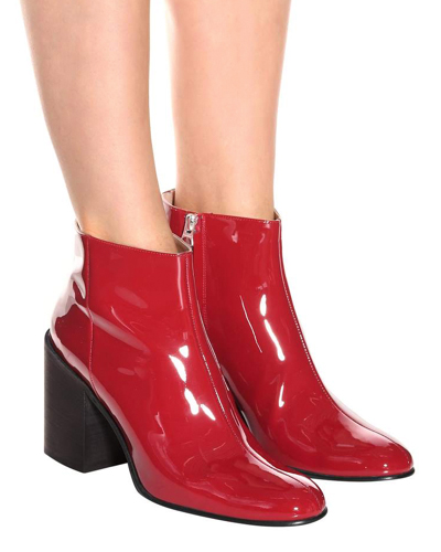 ACNE STUDIOS red boots