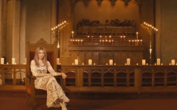 Alison Wonderland Wears a Dress in Church Music Video