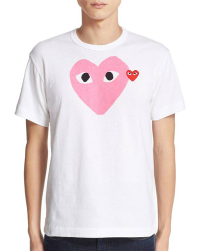 valentine's day gifts comme des garcons t-shirt