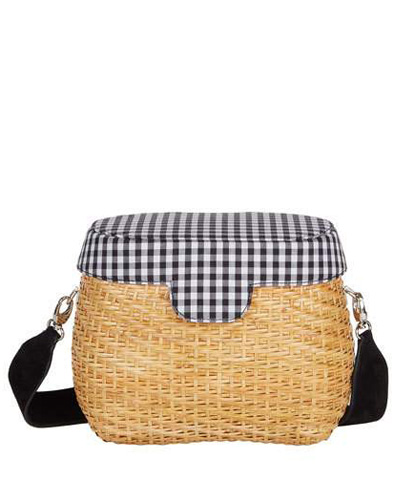 gingham handbag