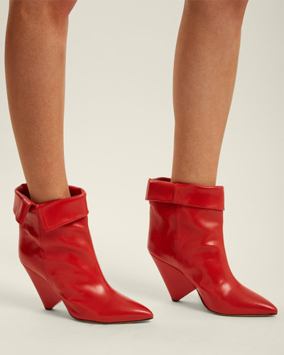 ISABEL MARANT red boots