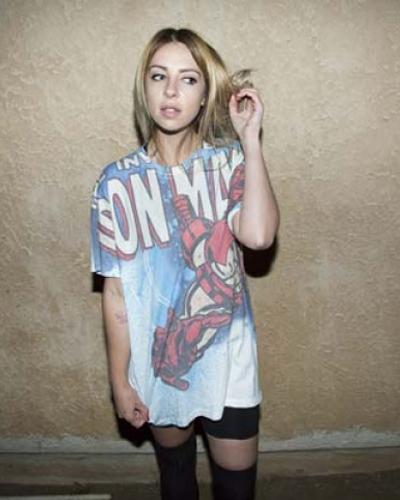alison wonderland spiderman t-shirt
