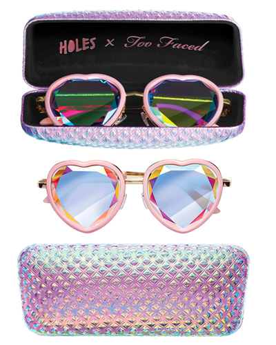 valentine's day gifts too faced heart sunglasses