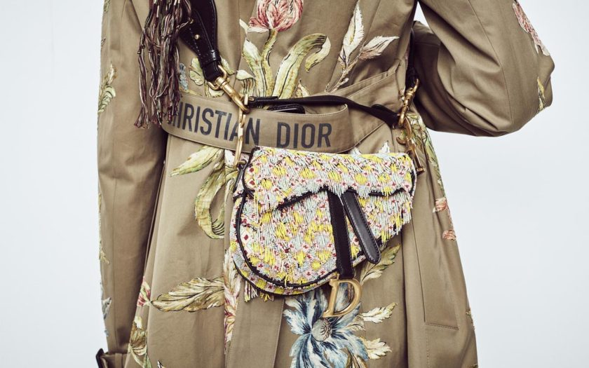 Christian Dior Saddle Bag 2018