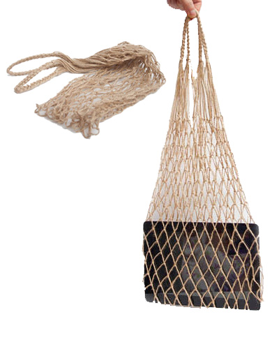Hemp String Shopping Bag