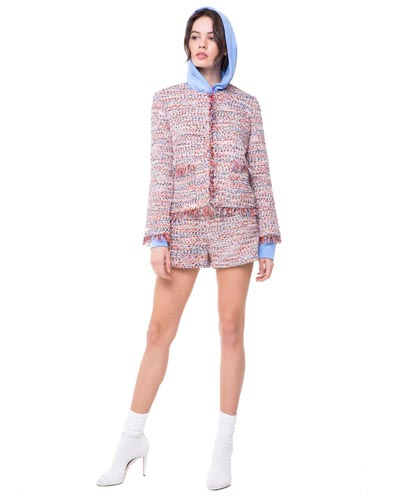 JUICY COUTURE STALLION TWEED SHORT SUIT