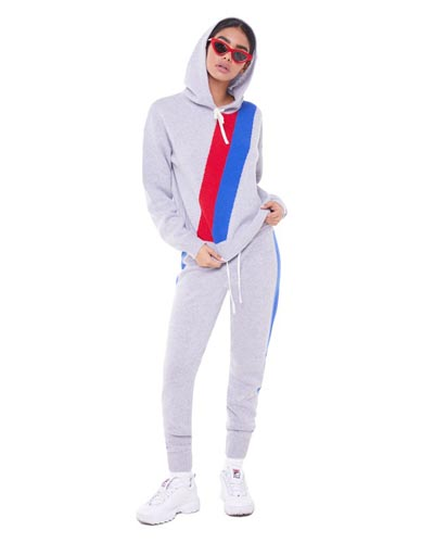 JUICY COUTURE STRIPED CASHMERE SUIT