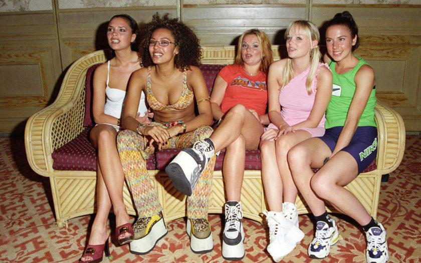 spice girls in buffalo london platform sneakers