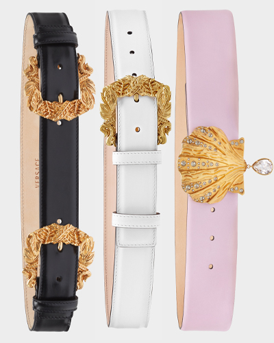 VERSACE TRIBUTE COLLECTION BAROCCO BELTS