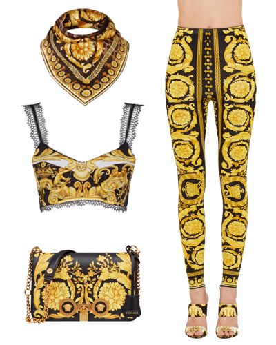 VERSACE TRIBUTE COLLECTION WILD BAROQUE