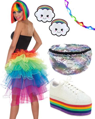 rainbow candy raver