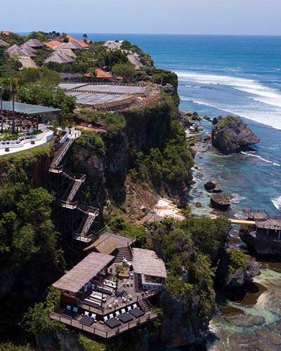 ulu cliffhouse beach club bali indonesia