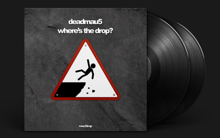 deadmau5 where's the drop cover art