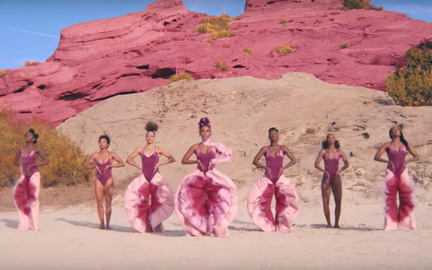 Screenshot from janelle monae PYNK music video